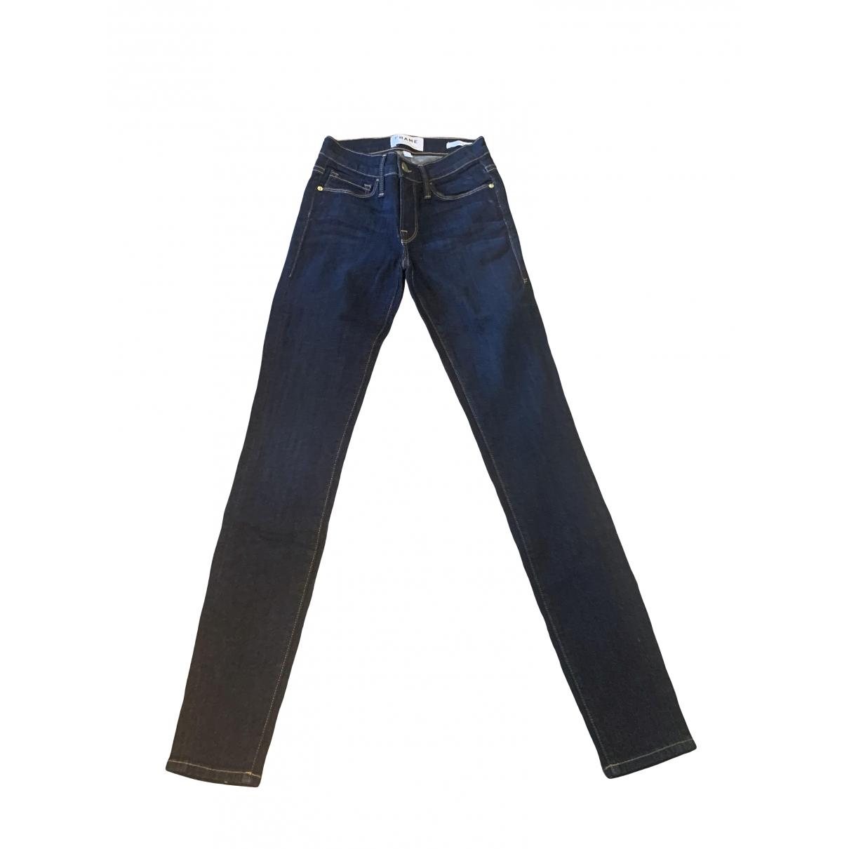 Frame Denim \N Denim - Jeans Jeans for Women 24 US