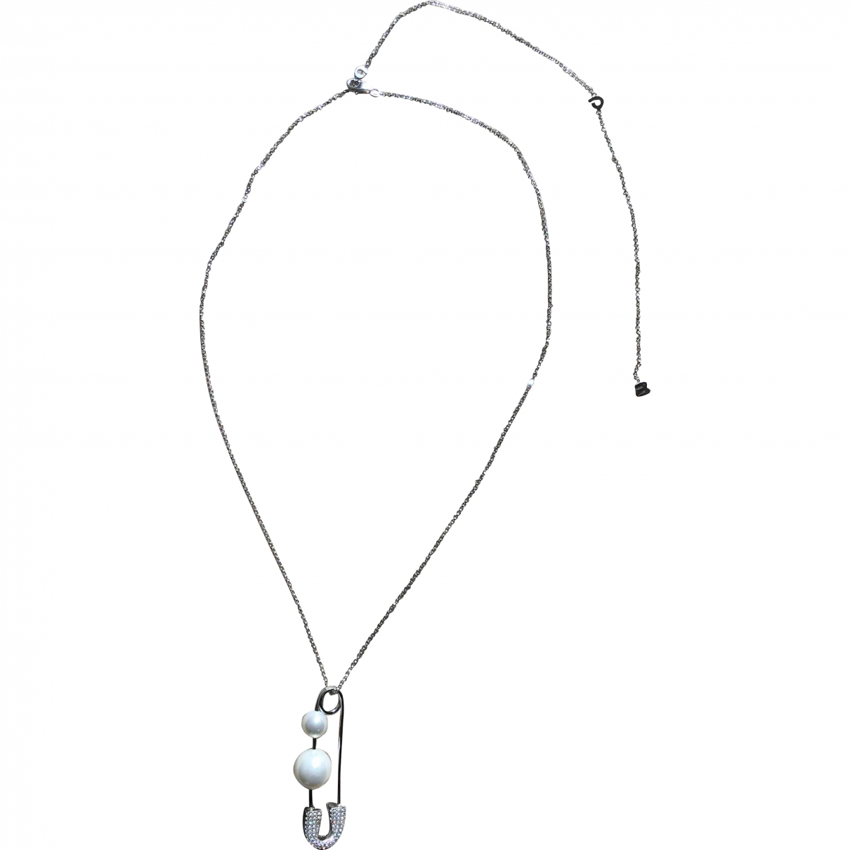 Apm Monaco \N Silver Silver necklace for Women \N