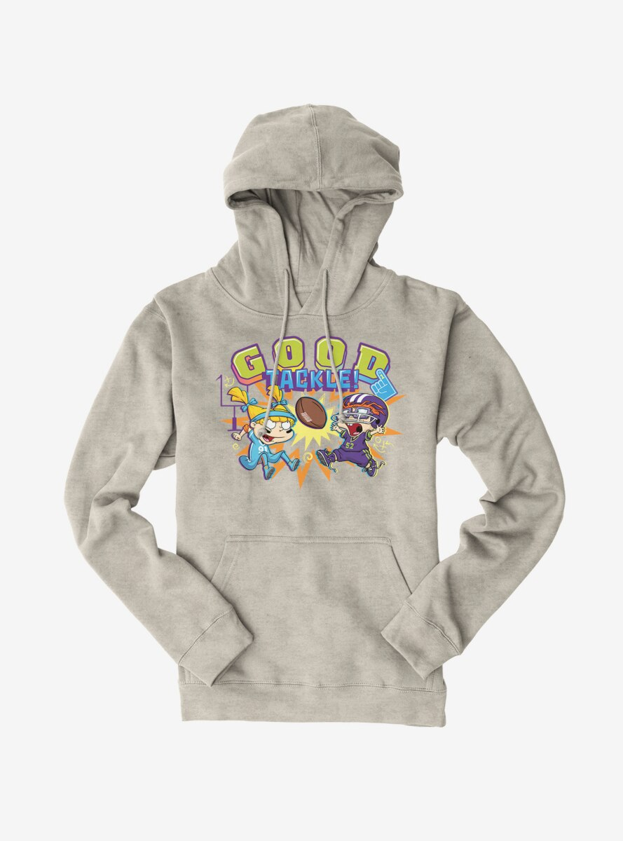 Rugrats Angelica And Chuckie Good Tackle Hoodie