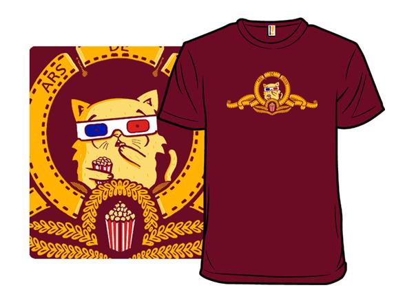 Meowvie Time T Shirt
