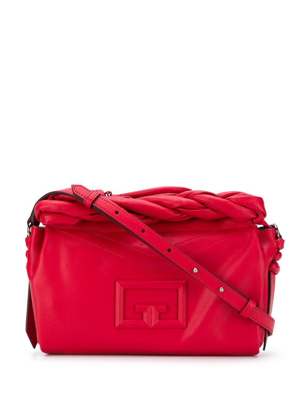 Id 93 Leather Crossbody Bag