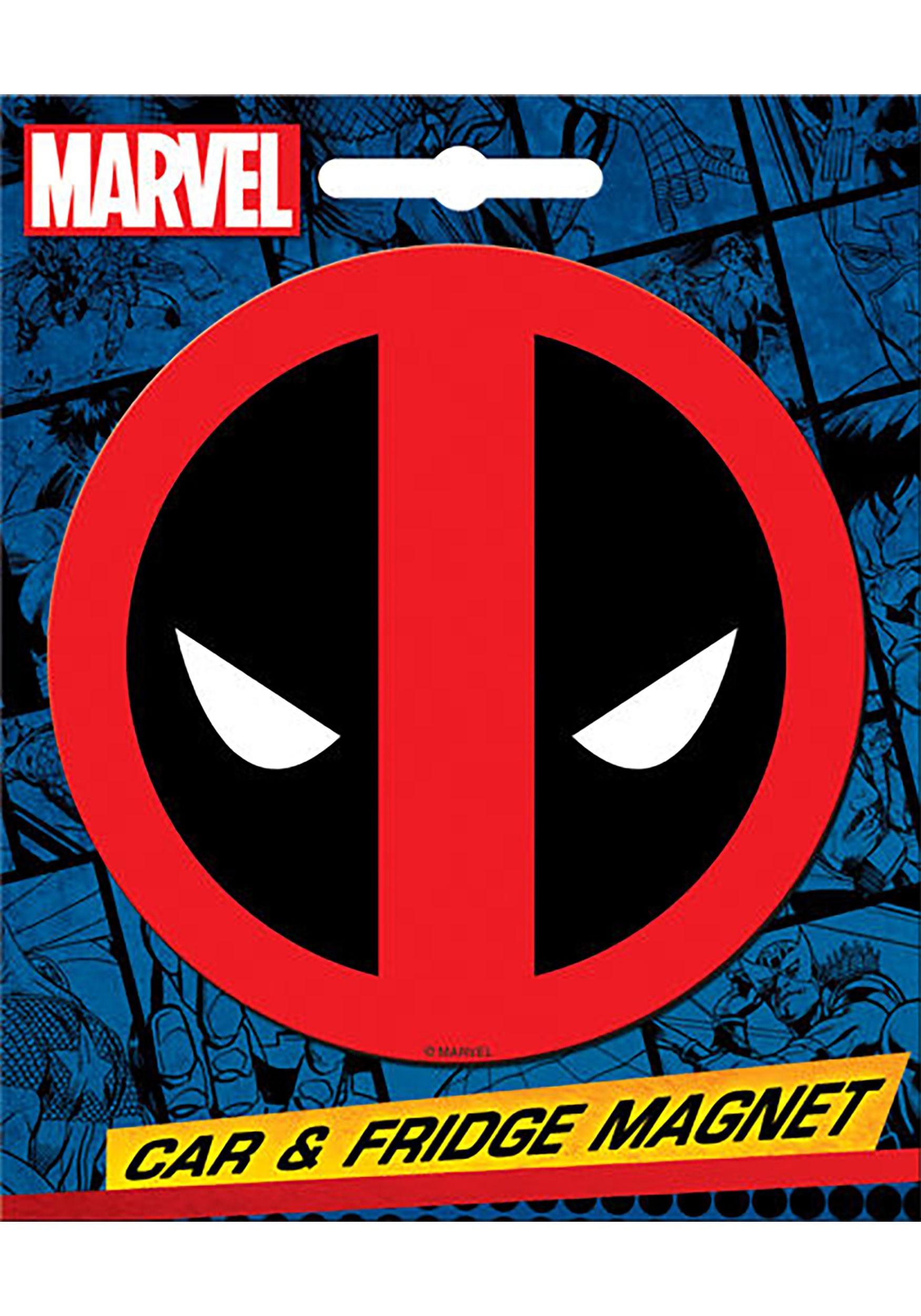 Marvel Deadpool Car & Fridge Magnet