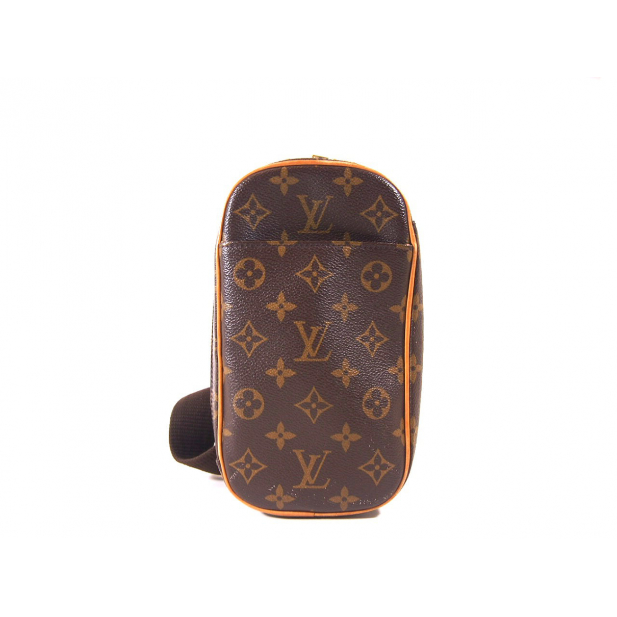 Louis Vuitton \N Brown Cloth Clutch bag for Women \N