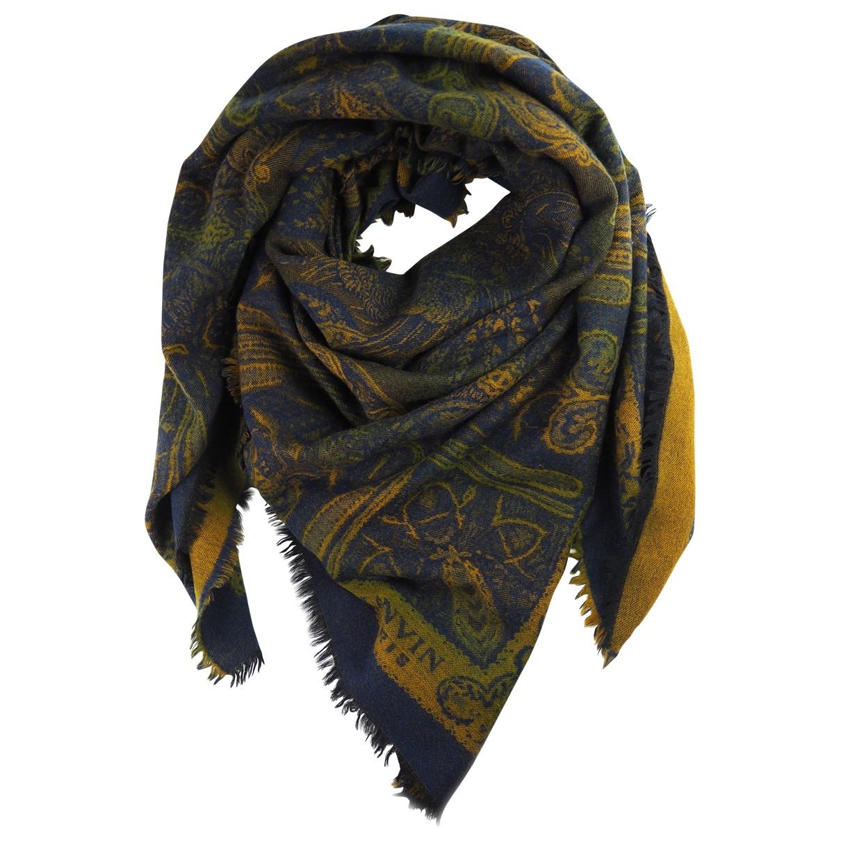 Lanvin \N Navy Wool scarf for Women \N