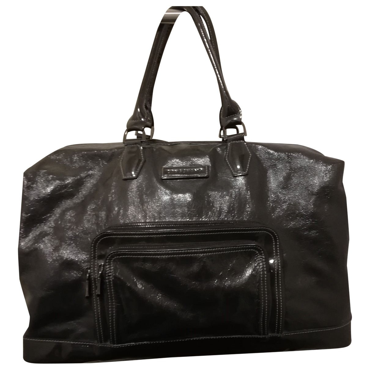 Longchamp Légende Anthracite Patent leather handbag for Women \N