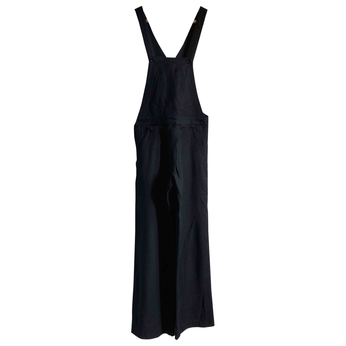 Isabel Marant Etoile \N Navy Wool jumpsuit for Women 0 0-5