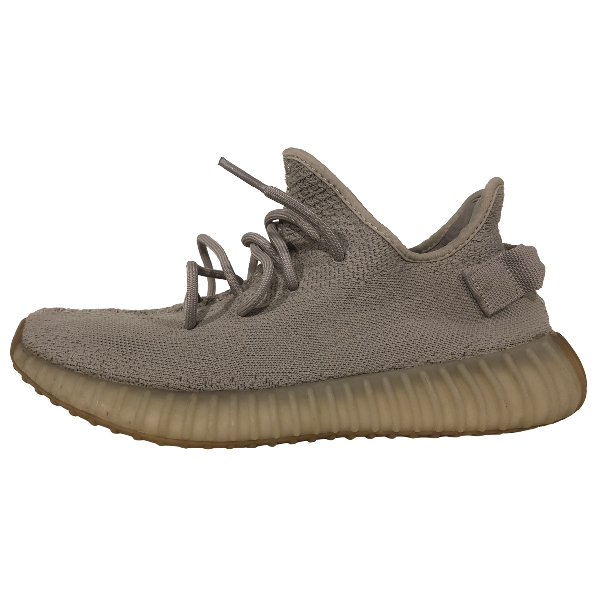 Yeezy X Adidas Boost 350 V2 Beige Trainers for Men 8.5 US
