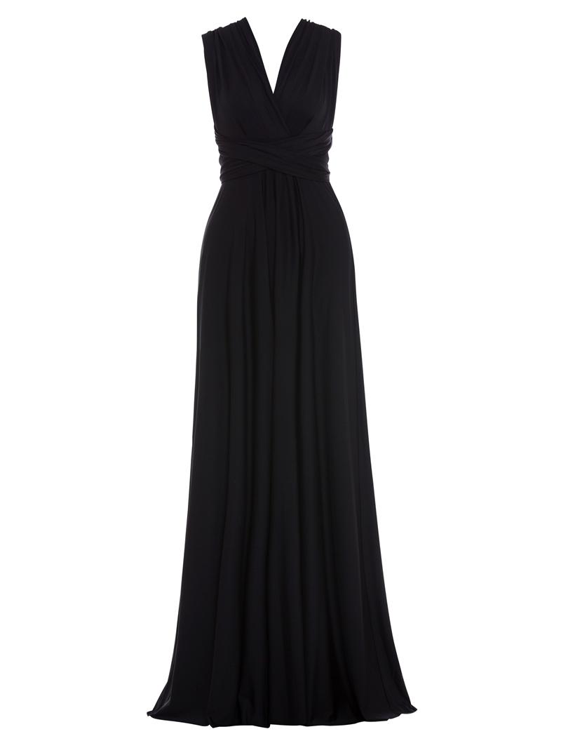 Ericdress V Neck Backless A Line Evening Dress