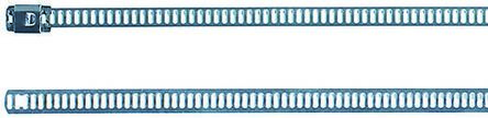 HellermannTyton , MAT24SS7 Series Metallic 316 Stainless Steel Ladder Cable Tie, 630mm x 7 mm