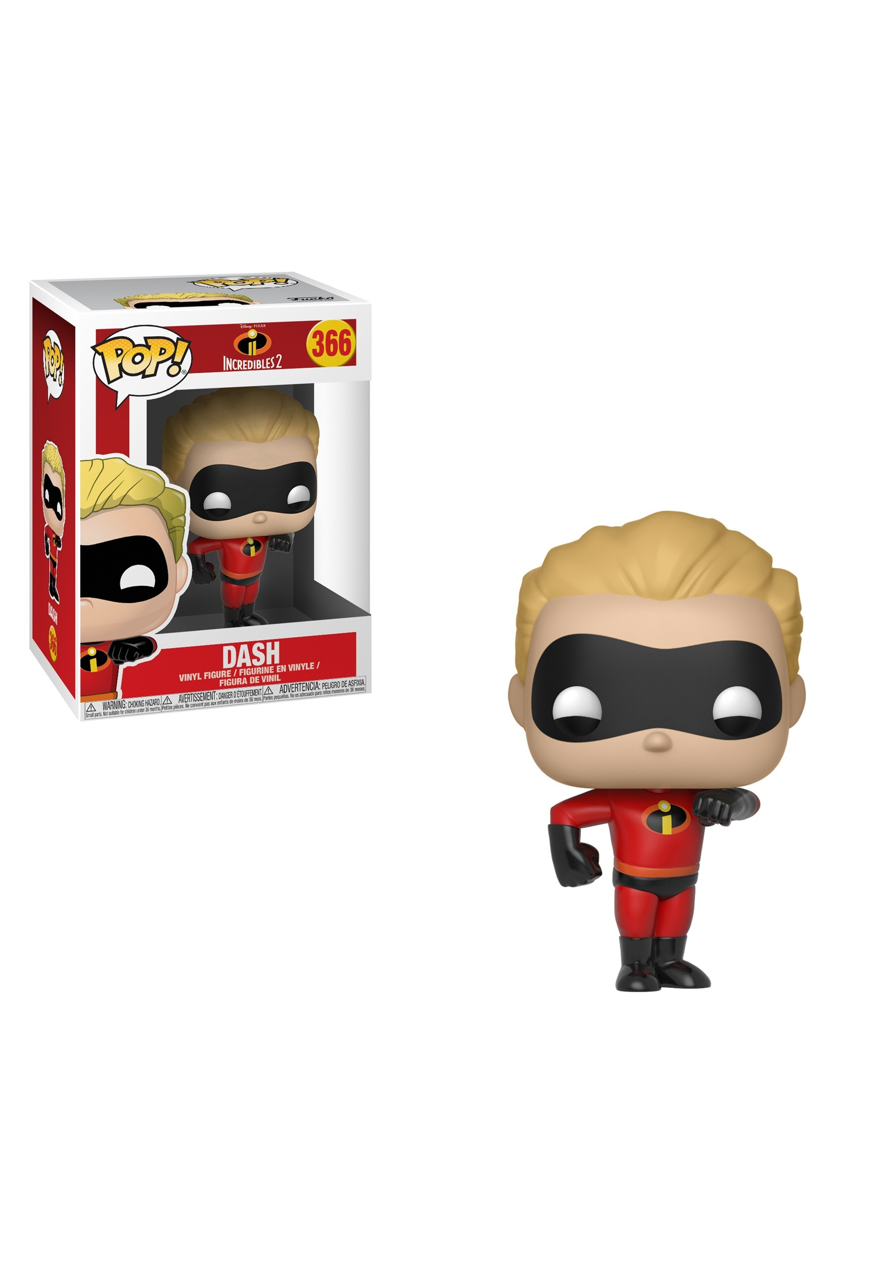 Disney Incredibles 2- Dash POP Vinyl Figure