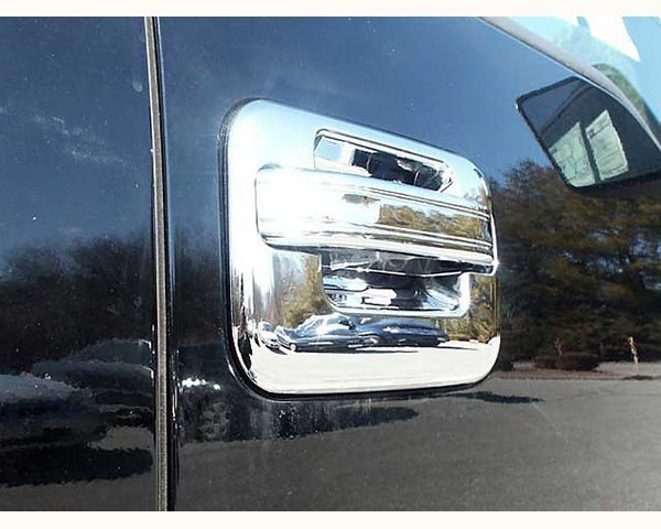 Quality Automotive Accessories ABS | Chrome Door Handle Cover Kit Ford F-150 2013