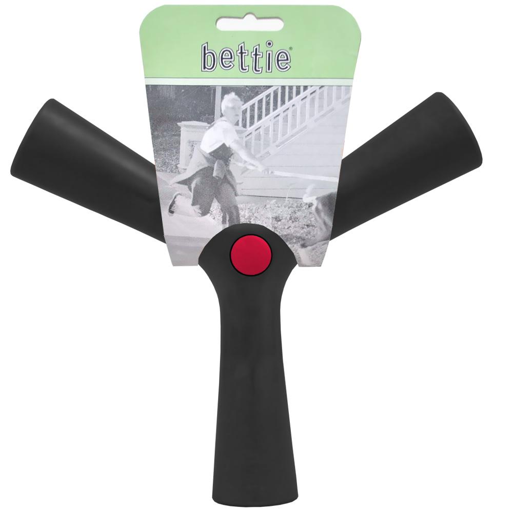 Bettie Fetch Toy Barkin Black (Large)