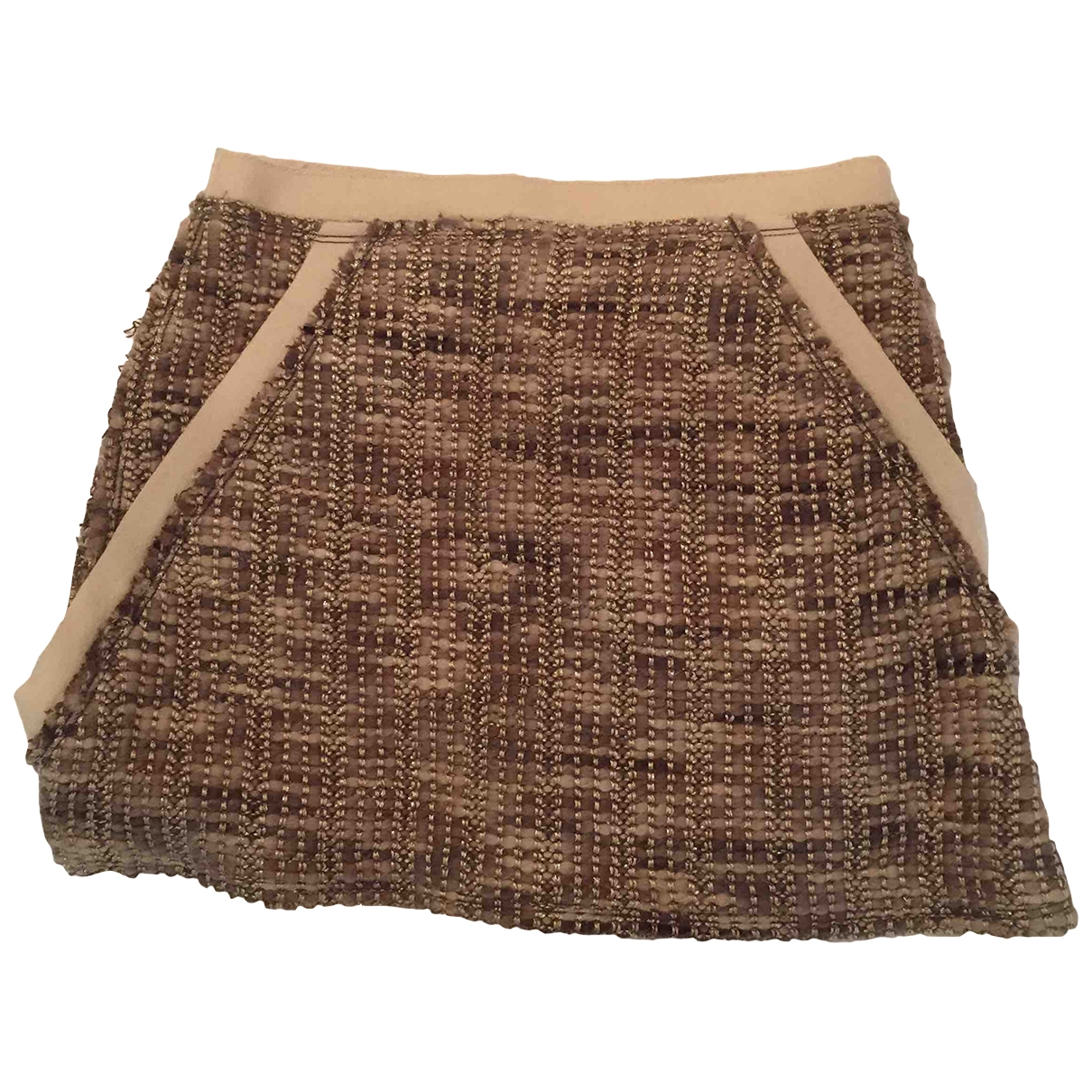 Missoni \N Beige Wool skirt for Women 38 IT