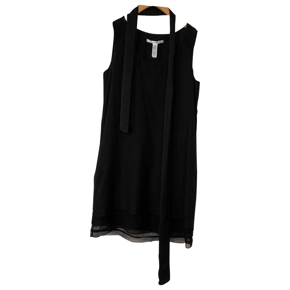 Diane Von Furstenberg \N Black Silk dress for Women 6 US