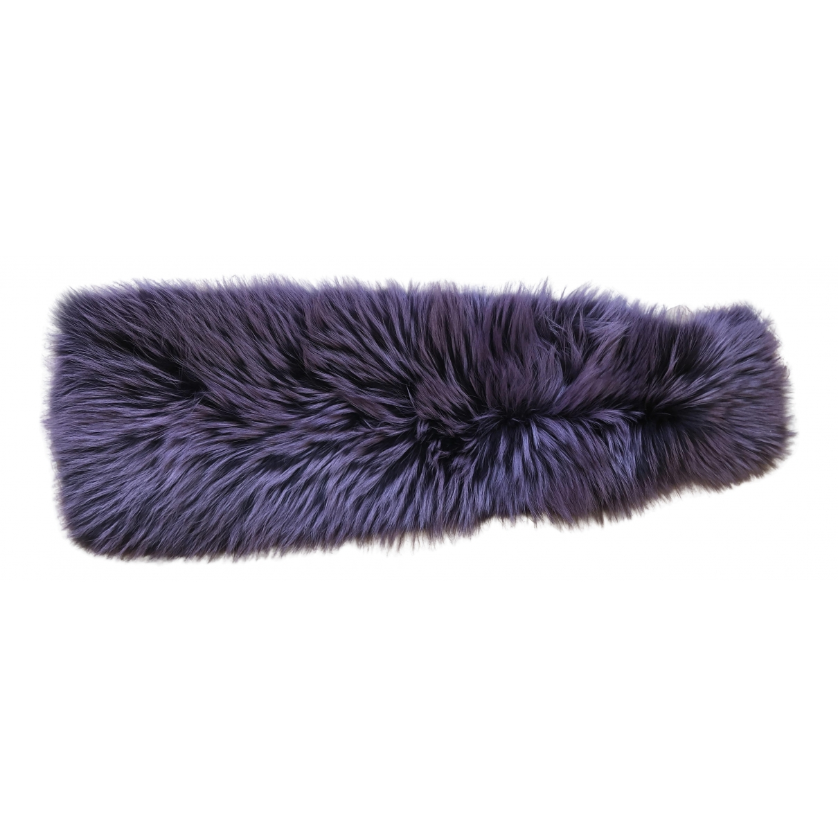 Plein Sud \N Purple Fox scarf for Women \N