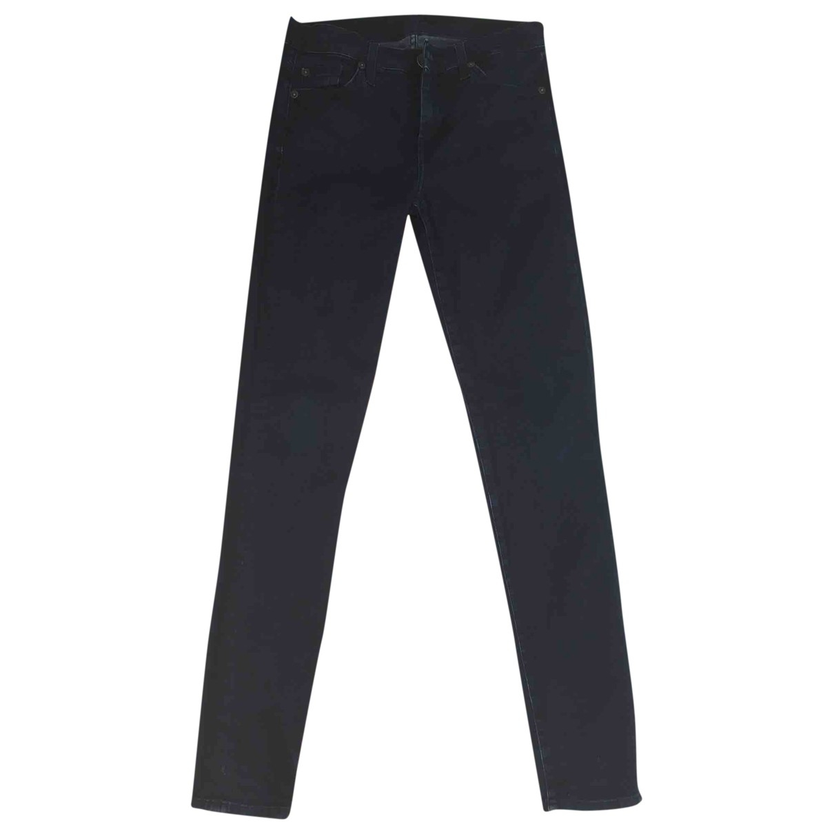 7 For All Mankind \N Blue Cotton Jeans for Women 26 US