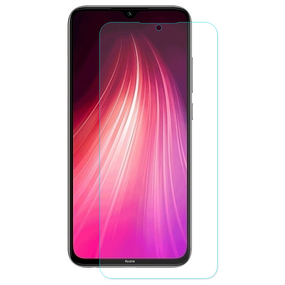 Makibes Anti-explosion Tempered Glass 0.33mm HD Screen Protector For Xiaomi Redmi Note 8 - Transparent