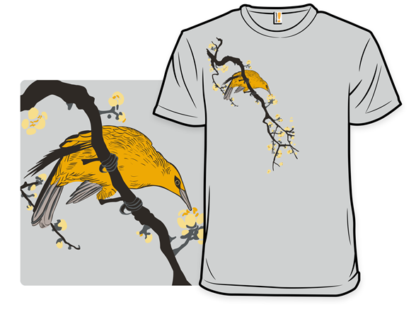 Perched Among Blossoms T Shirt