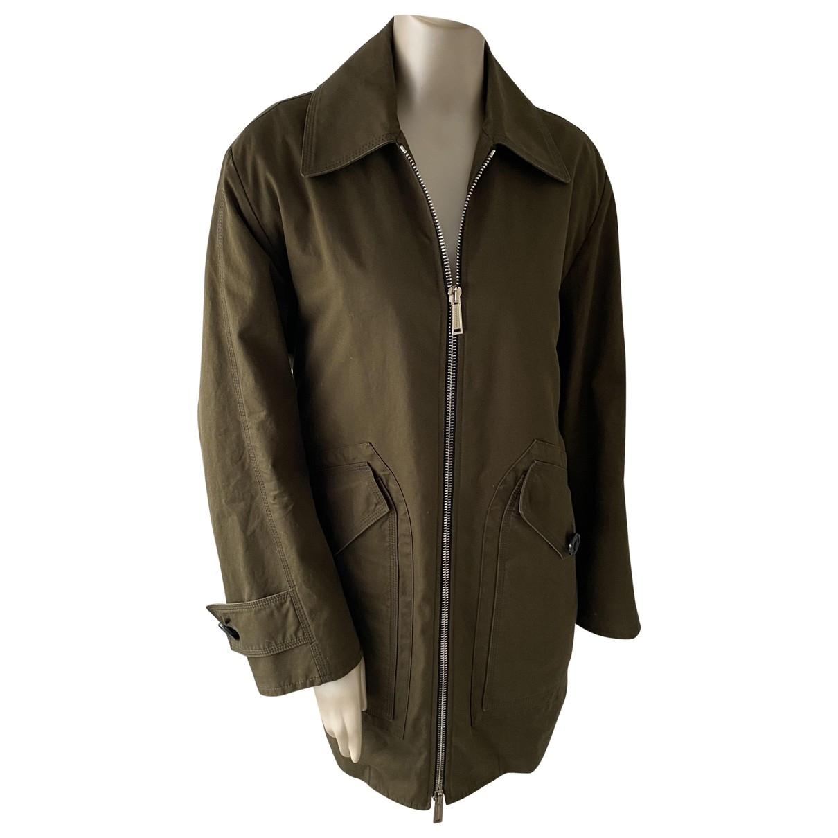 Dsquared2 \N Khaki Cotton jacket for Women 38 FR