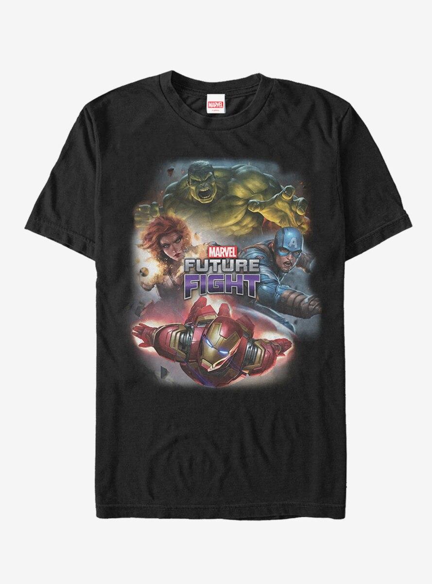 Marvel Future Fight Character Battle T-Shirt