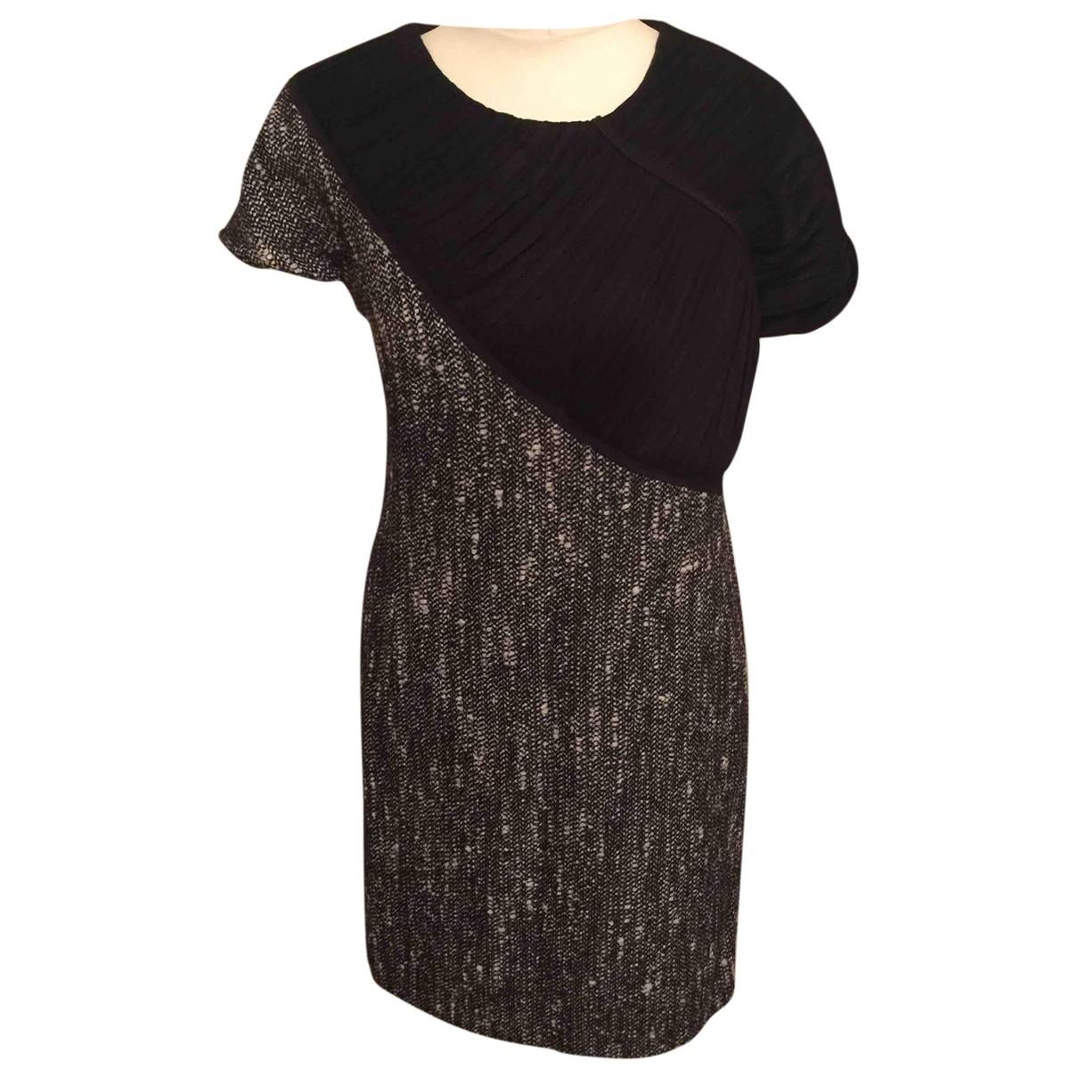 Burberry \N Grey Cotton dress for Women 10 UK