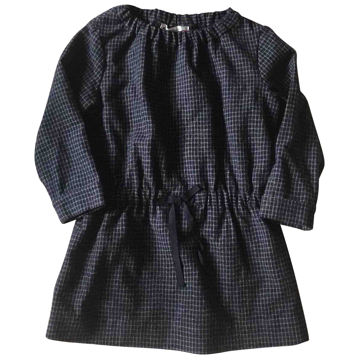 Bonpoint \N Navy Wool dress for Kids 4 years - up to 102cm FR