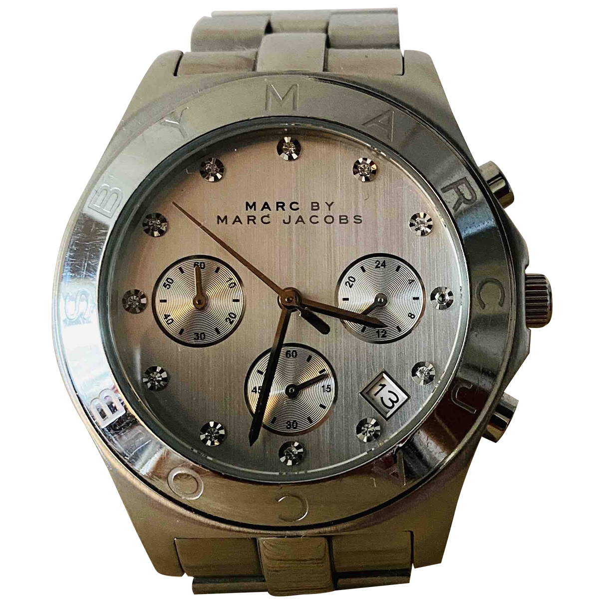 Marc By Marc Jacobs \N Metallic Steel watch for Women \N