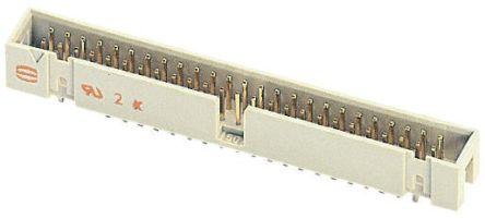 HARTING , SEK 18, 64 Way, 2 Row, Straight PCB Header