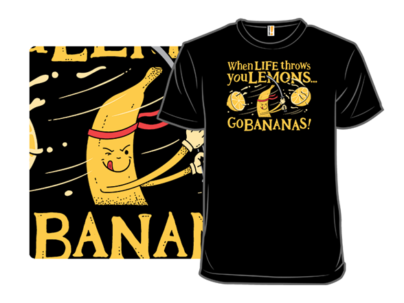 Go Bananas T Shirt