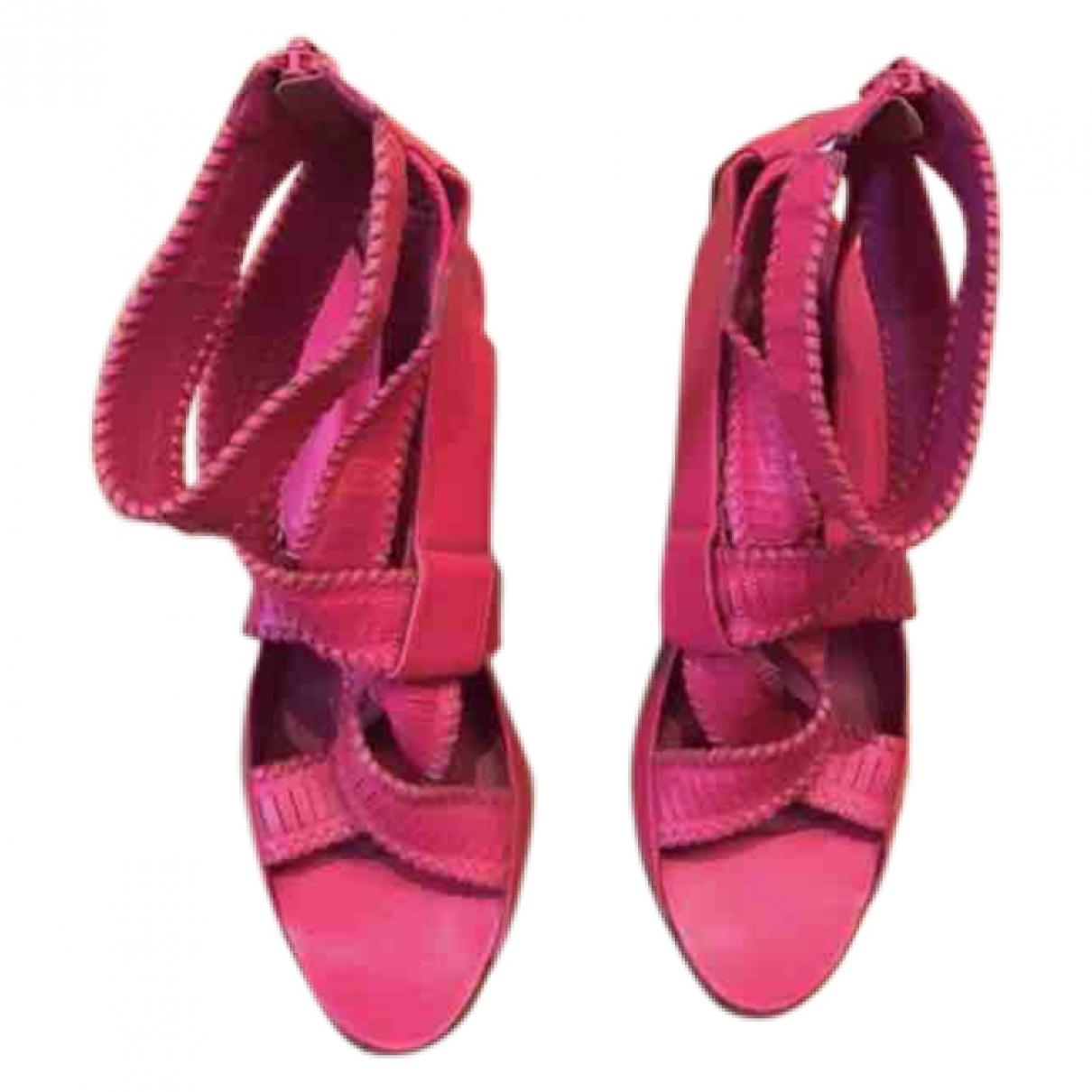 Givenchy \N Pink Leather Sandals for Women 39 EU