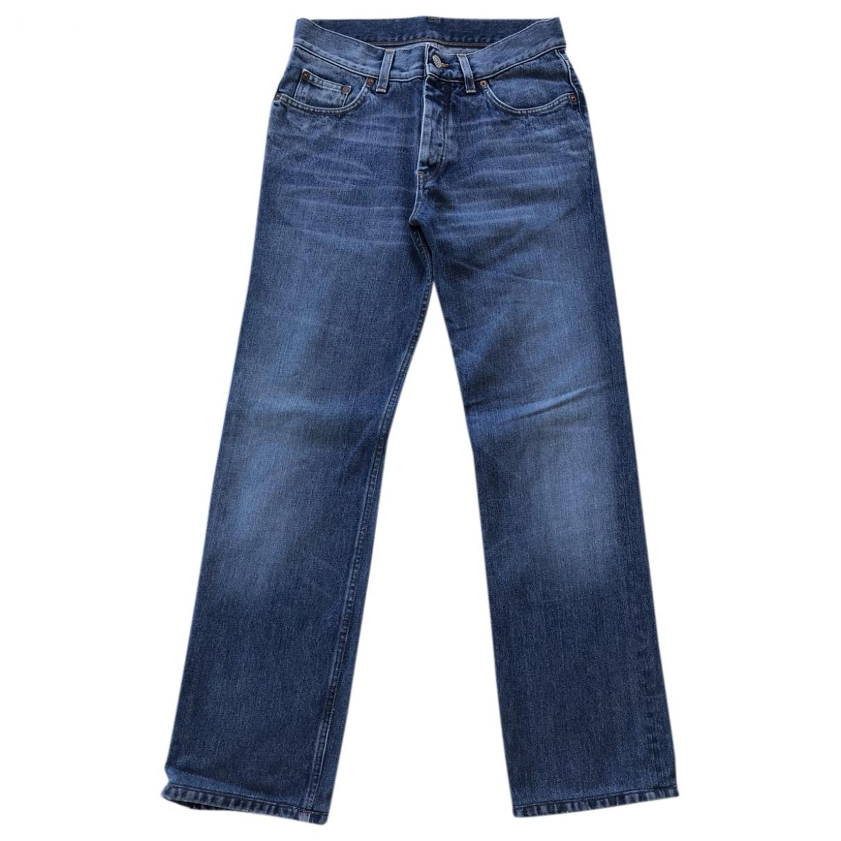 Gucci \N Blue Cotton Jeans for Men 44 FR