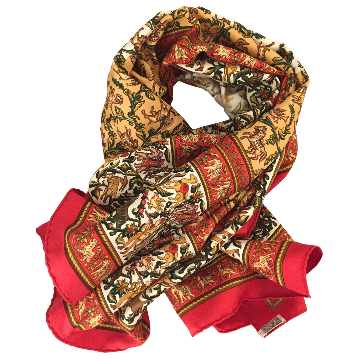 Hermès Carré 90 Multicolour Silk Silk handkerchief for Women \N