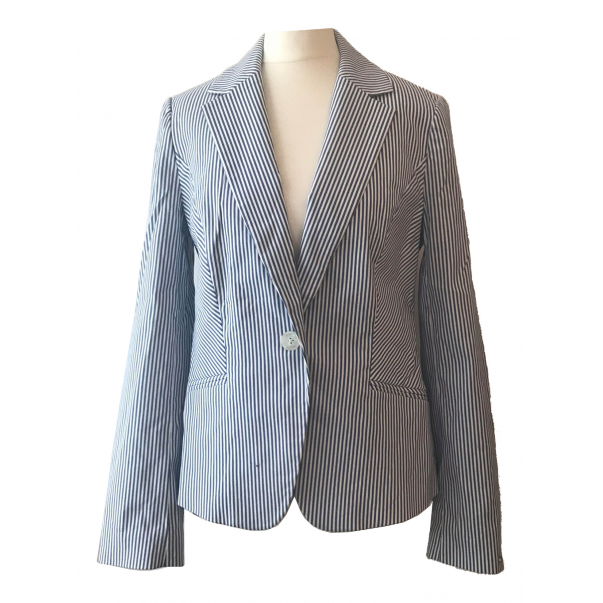 Tommy Hilfiger \N Blue Cotton jacket for Women 8 US