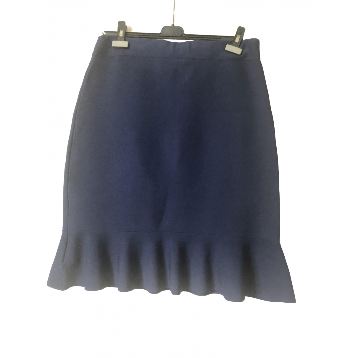 Lauren Ralph Lauren \N Navy Cotton - elasthane skirt for Women 46 FR