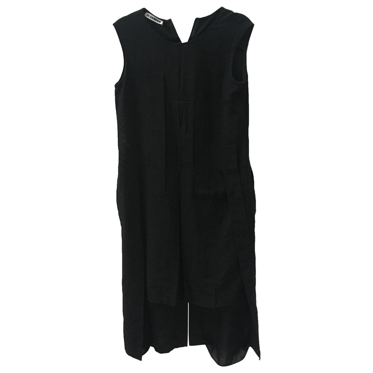 Jil Sander \N Black Wool dress for Women 36 IT