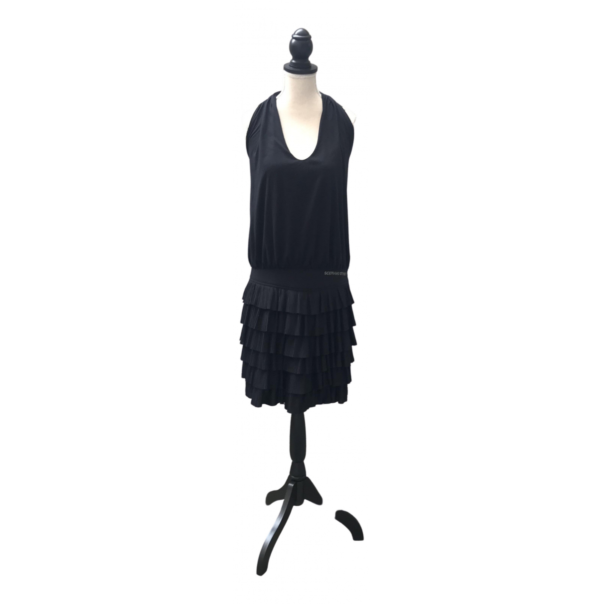 Ermanno Scervino \N Black dress for Women 42 IT