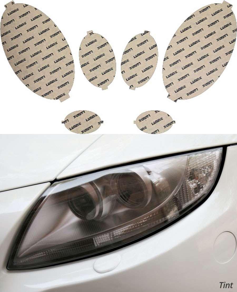 Mercedes E-Class 07-09 Tint Headlight Covers Lamin-X MB020T