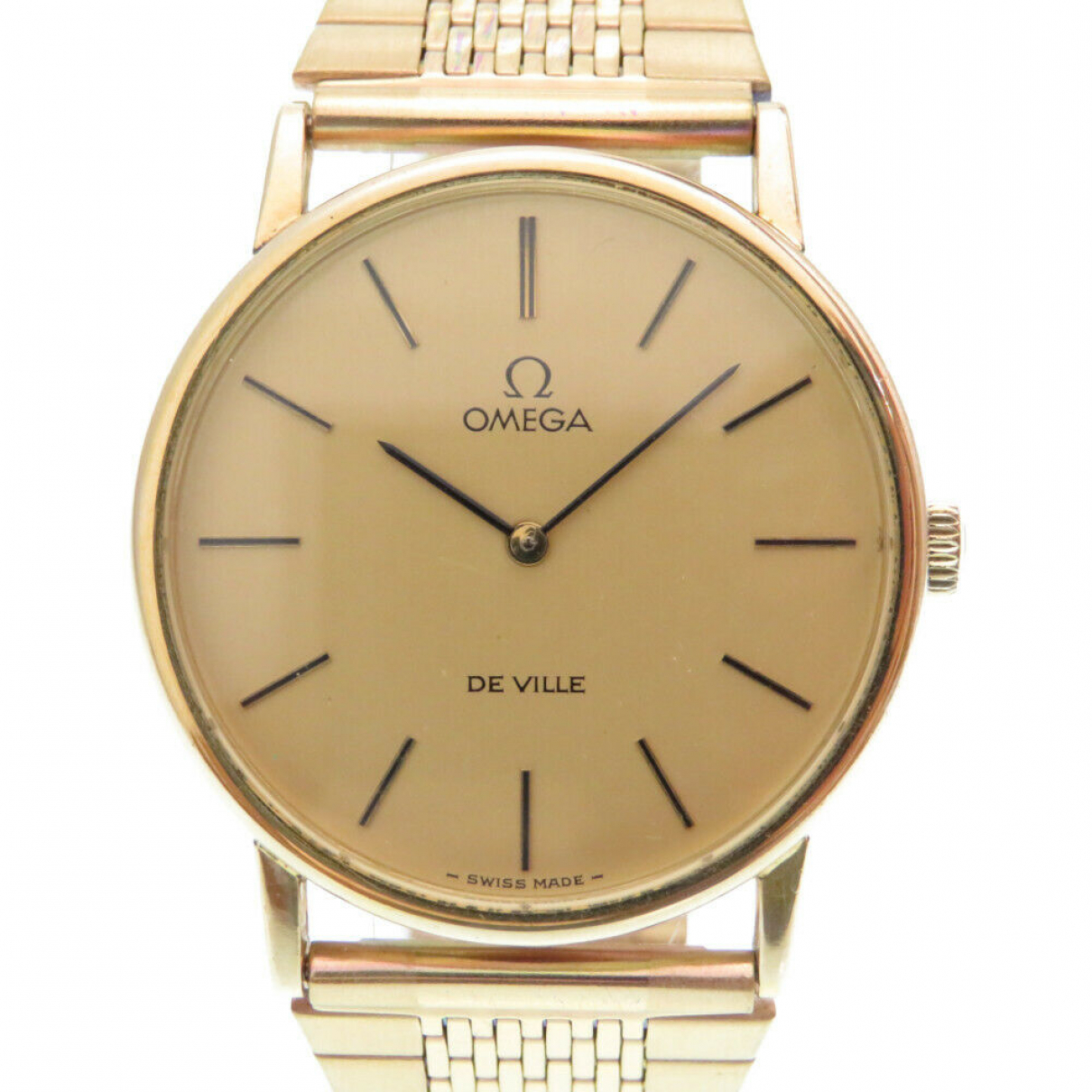 Omega De Ville  Gold Steel watch for Women \N