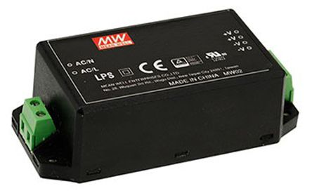 Mean Well , 45.6W Encapsulated Switch Mode Power Supply, 12V dc, Encapsulated