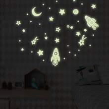 Galaxy Luminous Wall Sticker