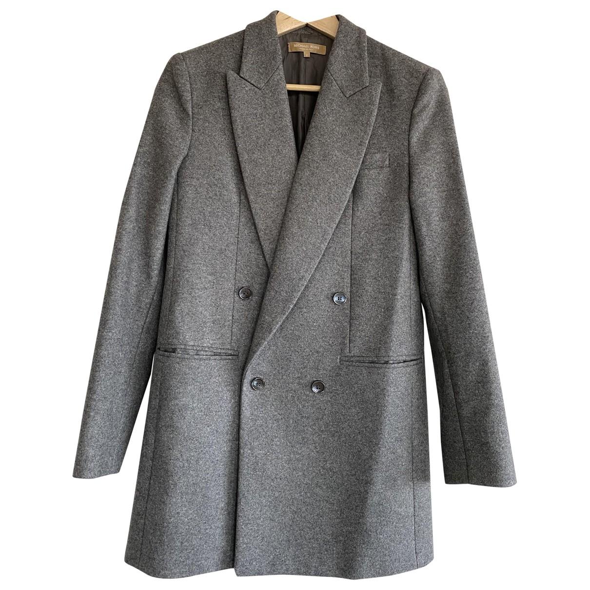 Michael Kors \N Grey Wool jacket for Women 2 0-5