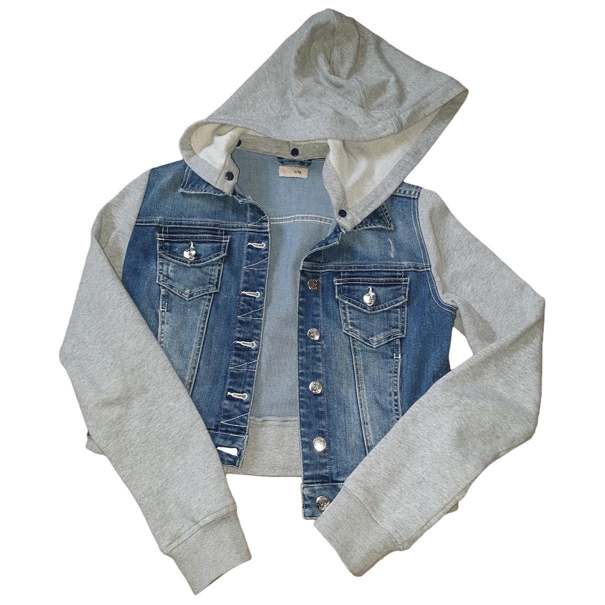 Twin Set \N Blue Denim - Jeans jacket for Women 42 IT