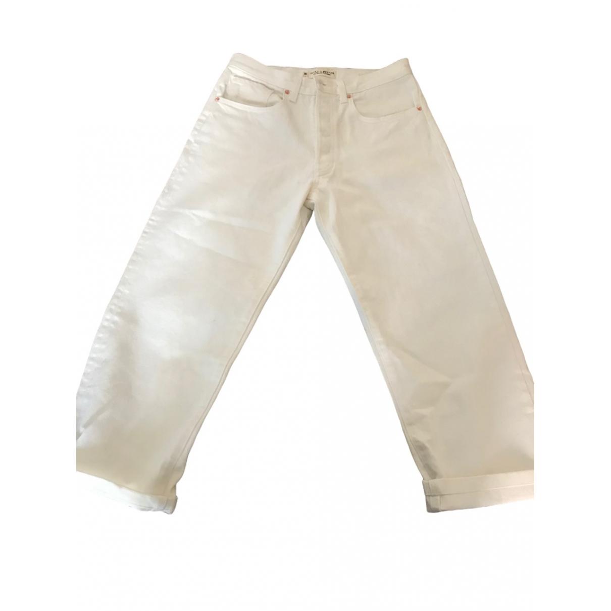 Nili Lotan \N White Cotton Jeans for Women 26 US