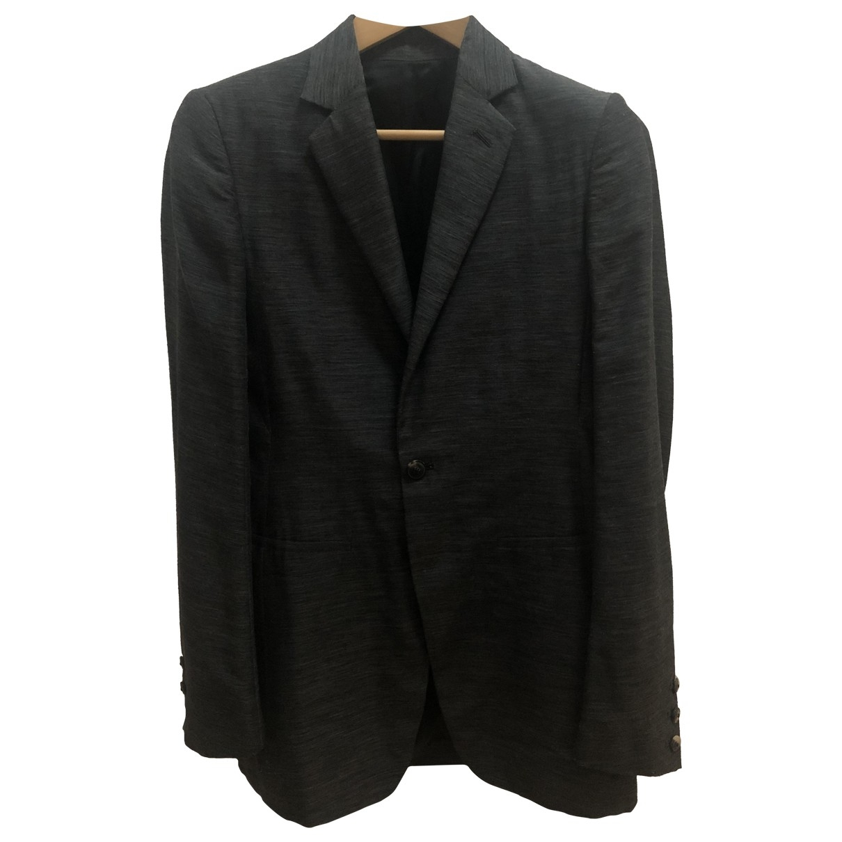 Rick Owens \N Anthracite Wool jacket  for Men 48 IT