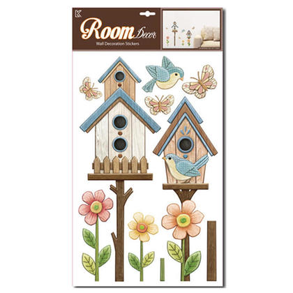 Peel and Stick Wall Stickers Pop-Up and Branch Birds Room Décor, 23