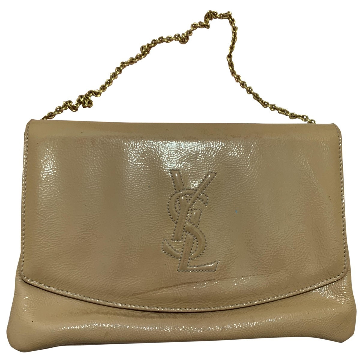 Yves Saint Laurent \N Pink Patent leather Clutch bag for Women \N