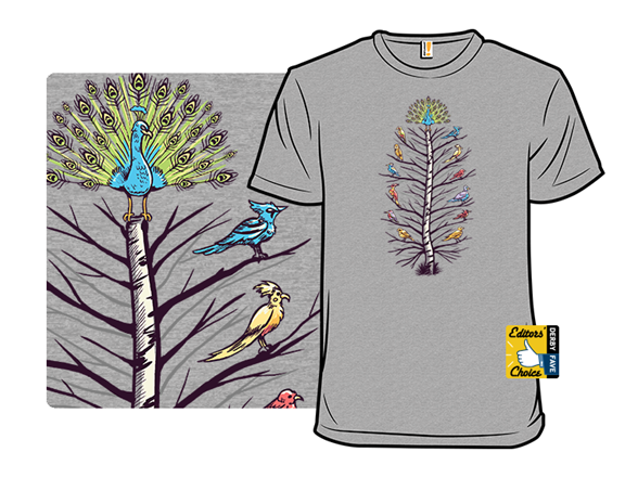 Feather Of Birds T Shirt