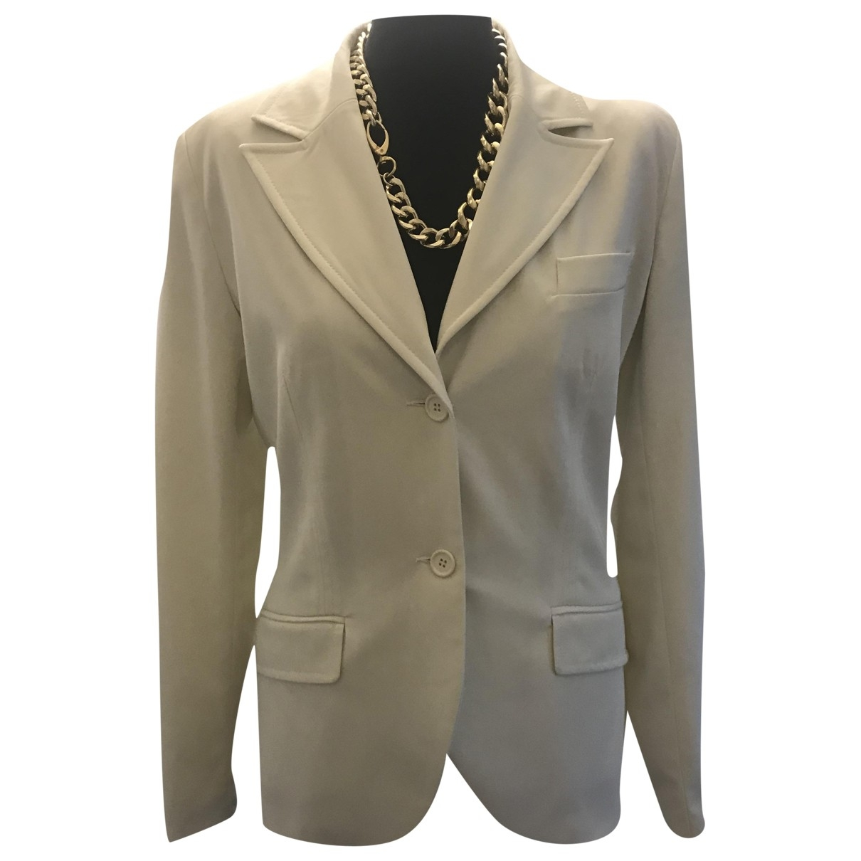 Non Sign?? / Unsigned \N White jacket for Women 38 FR