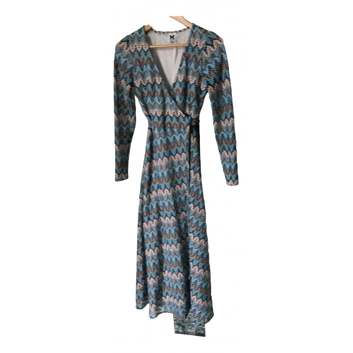 M Missoni \N Blue Cotton dress for Women S International