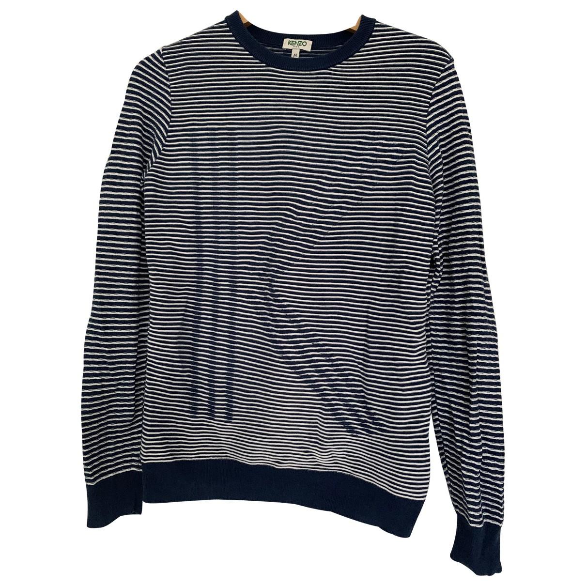 Kenzo \N Blue Cotton Knitwear for Women 38 FR